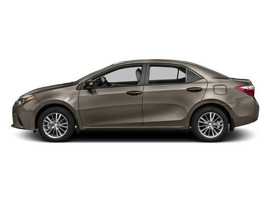 Toyota 2016 Models >> 2016 Toyota Corolla Le