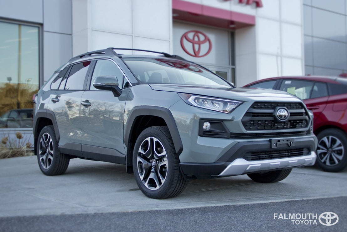 Toyotacare Roadside Assistance Number >> All New 2019 Toyota RAV4 AWD   Cape Cod   Falmouth Toyota ...
