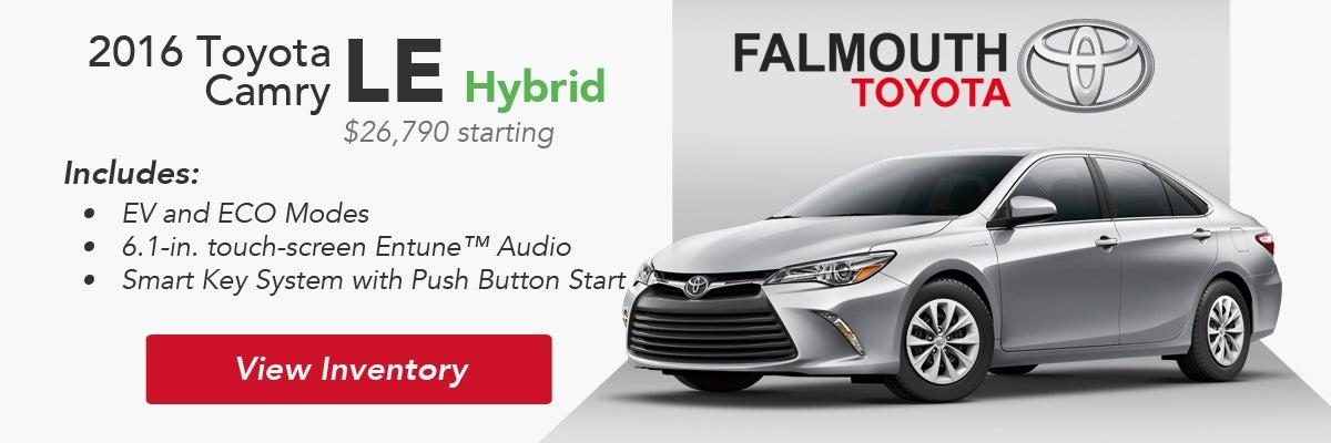 2016 Toyota Camry Trim Comparison | Falmouth Toyota