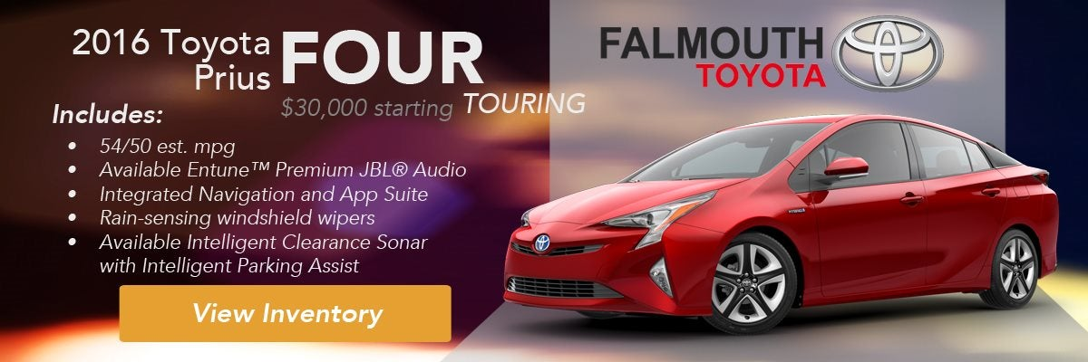 2016 Toyota Prius Four Touring Trim Comparison Guide Falmouth Bourne Ma Cape