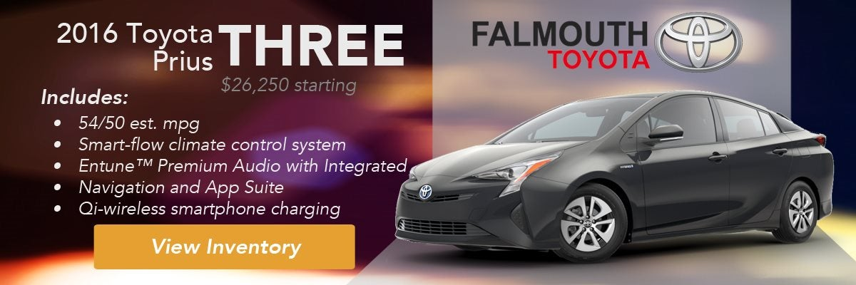 2016 Toyota Prius Three Trim Comparison Guide Falmouth Bourne Ma Cape Cod