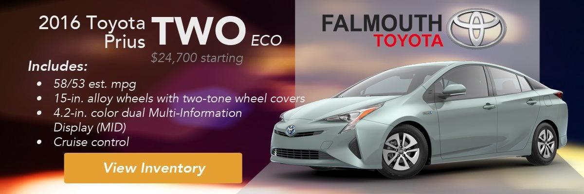2016 Toyota Two Eco Trim Comparison Guide Falmouth Bourne Ma Cape Cod